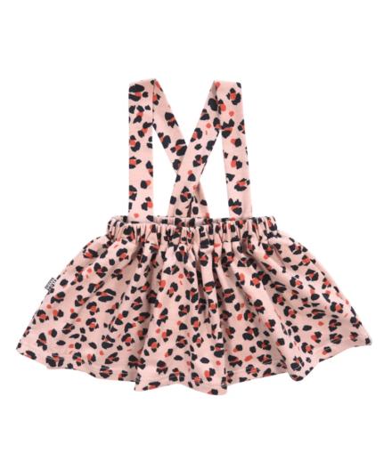 rokje luipaard roze